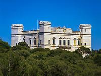 Malta, bei Rabat: Verdala Palace und Buskett Garden | Malta, near Rabat: Verdala Palace and Buskett Garden