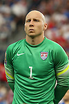 13 July 2015: Brad Guzan (USA). The United States Men's National Team played the Panama Men's National Team at Sporting Park in Kansas City, Kansas in a 2015 CONCACAF Gold Cup Group A match.