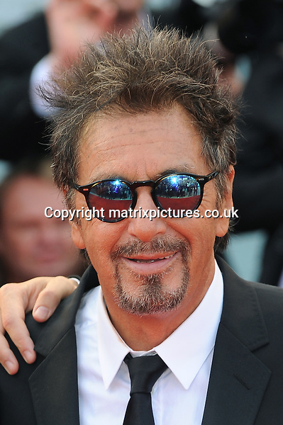 NON EXCLUSIVE PICTURE: PAUL TREADWAY / MATRIXPICTURES.CO.UK<br /> PLEASE CREDIT ALL USES<br /> <br /> WORLD RIGHTS<br /> <br /> American actor Al Pacino attends the Manglehorn premiere during the 71st Venice Film Festival, Palazzo del Casino, Venice, Italy.<br /> <br /> 30TH AUGUST 2014<br /> <br /> REF: PTY 143820