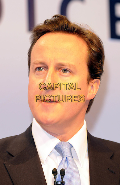 DAVID CAMERON.Speaking at The CBI Conference,  Hilton, Park Lane, London, England.November 24th, 2008.headshot portrait politician politics Conservative Leader .CAP/FIN.©Steve Finn/Capital Pictures.