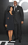 Earvin Magic Johnson and wife arriving at the Tom Ford Autumn/Winter 2015 Womenwears Collection held at Milk Studios Los Angeles, CA. February 20, 2015.