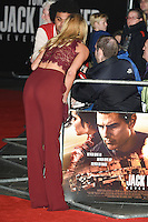 "Kimberley Garner<br /> at the premiere of ""Jack Reacher: Never Go Back"" at the Cineworld Empire Leicester Square, London.<br /> <br /> <br /> ©Ash Knotek  D3185  20/10/2016"