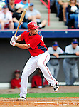 1 March 2011: Washington Nationals' Ryan Zimmerman in action during a Spring Training game against the New York Mets at Space Coast Stadium in Viera, Florida. The Nationals defeated the Mets 5-3 in Grapefruit League action. Mandatory Credit: Ed Wolfstein Photo