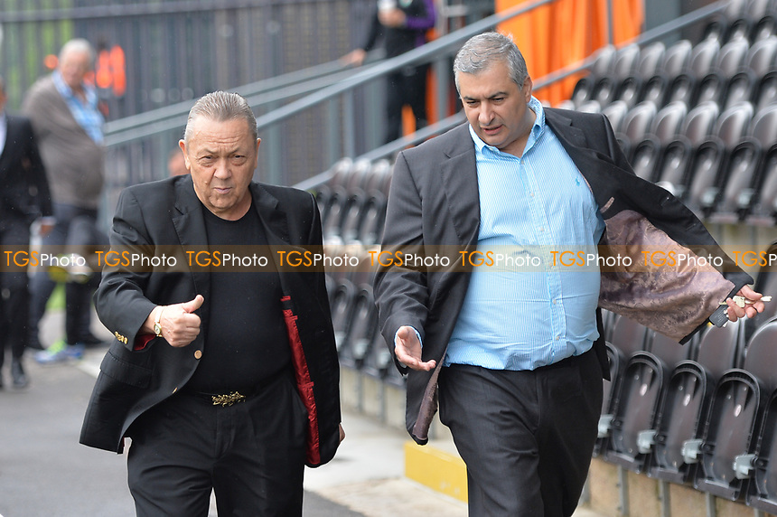 david sullivan and anthony kleanthous during Barnet vs West Ham United, Friendly Match Football at the Hive Stadium on 15th July 2017