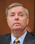 Washington, DC - July 14, 2009 -- United States Senator Lindsay Graham (Republican of South Carolina) listens to the testimony of Judge Sonia Sotomayor during her testimony before the U.S. Senate Judiciary Committee on her nomination as Associate Justice of the U.S. Supreme Court on Tuesday, July 14, 2009..Credit: Ron Sachs / CNP