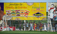 Kingston, Jamaica - Tuesday, June 4, 2013: The USMNT practices at Arnic Gardens Football Club. Jamaican locals watch the practice.