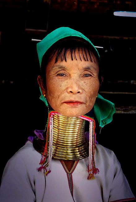 giraffe woman of Burma