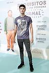 "Spanish actor Eduardo Casanova during the Premier of the film 'Requisitos para ser una personal normal"". June 2, 2015. (ALTERPHOTOS/Acero)"