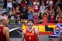 Spain Edgar Vicedo during FIBA European Qualifiers to World Cup 2019 between Spain and Slovenia at Coliseum Burgos in Madrid, Spain. November 26, 2017. (ALTERPHOTOS/Borja B.Hojas) /NortePhoto NORTEPHOTOMEXICO