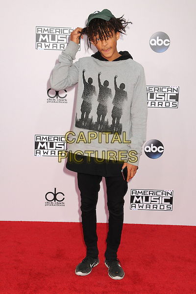 23 November 2014 - Los Angeles, California - Jaden Smith. American Music Awards 2014 - Arrivals held at Nokia Theatre LA Live. <br /> CAP/ADM/BP<br /> &copy;BP/ADM/Capital Pictures
