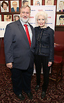 Jano Herbosch and Gabriel Shanks attend the 2017 Drama League Award Nominees Announcements at Sardi's on April 19, 2017 in New York City.