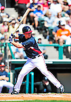 13 March 2010: Atlanta Braves' infielder Chipper Jones in action during a Spring Training game against the Toronto Blue Jays at Champion Stadium in the ESPN Wide World of Sports Complex in Orlando, Florida. The Blue Jays shut out the Braves 3-0 in Grapefruit League action. Mandatory Credit: Ed Wolfstein Photo