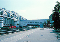 Berlin: International Congress Center, 1973-1978. 300 meters long. Photo '87.