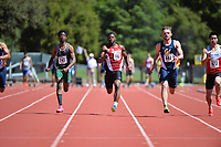 Stanford, Ca - Friday March 31, 2017: Terrence Alexander at the Stanford Invitational at Cobb Field.