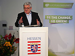 """Brussels - Belgium, December 10, 2014 -- """"Will Europe Fail? Joschka Debates Europe."""" a presentation of a book written (published) by and discussion with Joschka Fischer, the Green former Vice-Chancellor and Foreign Affairs Minister of Germany, organized by the European Green Party at the Representation of the State of Hessen to the EU -- Photo: © HorstWagner.eu"""
