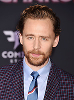 LOS ANGELES, CA - OCTOBER 10: Actor Tom Hiddleston arrives at the premiere of Disney and Marvel's 'Thor: Ragnarok' at the El Capitan Theatre on October 10, 2017 in Los Angeles, California.<br /> CAP/ROT/TM<br /> &copy;TM/ROT/Capital Pictures