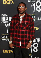 MIAMI, FL - OCTOBER 6: Fabolous inside at the 2018 BET Hip Hop Awards at the Fillmore Theater in Miami, Florida on October 6, 2018. <br /> CAP/MPIWG<br /> &copy;WG/MPI/Capital Pictures