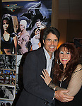 """Young and the Restless, Bold and the Beautiful and Sunset Beach Peter Barton """"Scott Grainger"""" & One Life To Live BarBara Luna """" Maria Roberts"""" and also on Sunset Beach about the same time as Peter Barton at Chiller Theatre - Toy, Model and Film Expo was held over the weekend - October 27, 2013 at the Sheraton Hotel, Parsippany, New Jersey - (Photo by Sue Coflin/Max Photos)"""