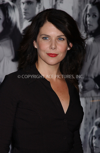 """WWW.ACEPIXS.COM . . . . . ....November 13 2005, New York City....Lauren Graham....Red Carpet arrivals at the 20th Century Fox premiere of""""Walk The Line"""" at the Beacon Theatre.....Please byline: KRISTIN CALLAHAN - ACE PICTURES.. . . . . . ..Ace Pictures, Inc:  ..Philip Vaughan (212) 243-8787 or (646) 679 0430..e-mail: info@acepixs.com..web: http://www.acepixs.com"""