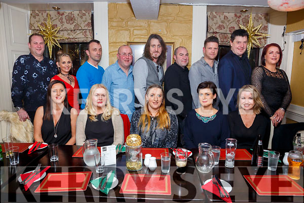 Mairead O&rsquo;Shea seated front centre enjoying her birthday celebrations in the Brogue Inn. Seated l-r, Deirdre O&rsquo;Mahoney, Bridget Lyons, Mairead O&rsquo;Shea, Laura Freeman and Noelle Swan.<br /> Back l-r, Benard Burke, Sharon Burke, Owen Curran, Pat Lyons, Aidan O&rsquo;Shea, Alan Freeman, Peter Swan, Joe O&rsquo;Shea and Ann Fahy.