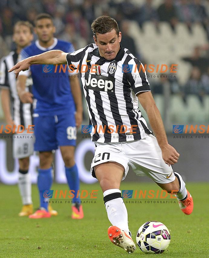 Simone Padoin Juventus,<br /> Torino 24-09-2014, Juventus Stadium, Football Calcio 2014/2015 Serie A, Juventus-Cesena, Foto Filippo Alfero/Insidefoto