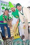 Batting the snakes out of Killorglin for the St Patricks Day parade in Killorglin on Thursday were Barry Harmon, Tim Clifford and Karl Falvey.