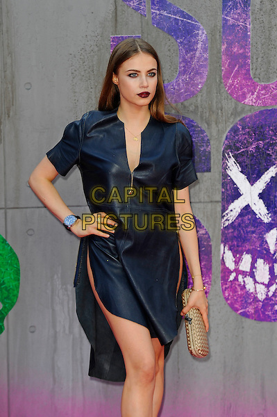 LONDON, ENGLAND - AUGUST 3: Xenia Tchoumitcheva attending the 'Suicide Squad' European Premiere at Odeon Cinema, Leicester Square on August 3, 2016 in London, England.<br /> CAP/MAR<br /> &copy;MAR/Capital Pictures