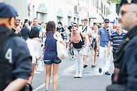 Gay pride Brescia nella foto corteo in via Mazzini cronaca Brescia 17/06/2017 foto Matteo Biatta<br /> <br /> Gay pride Brescia in the picture demostration in Via Mazzini chronicle Brescia 17/06/2017 photo by Matteo Biatta