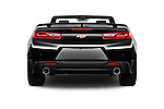 Straight rear view of 2017 Chevrolet Camaro 2LT 2 Door Convertible Rear View  stock images