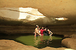 Zarhan waterhole in the Negev