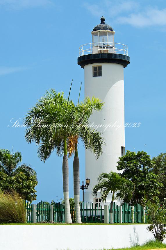 Puerto Rico, El Faro lighthouse Rincon