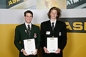 Mountain Biking Boys Finalists. ASB College Sport Young Sportsperson of the Year Awards 2006, held at Eden Park on Thursday 16th of November 2006.<br />