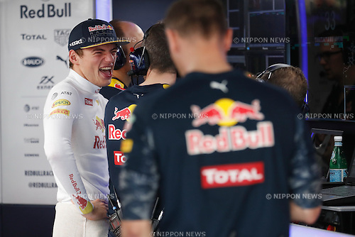 Max Verstappen (NED), <br /> OCTOBER 8, 2016 - F1 : Japanese Formula One Grand Prix <br /> at Suzuka Circuit in Suzuka, Japan. (Photo by Sho Tamura/AFLO SPORT) GERMANY OUT