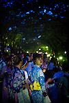 Tokyo - 25th of July 2009 - Hanabi (fireworks) near Sumida river in Tokyo.