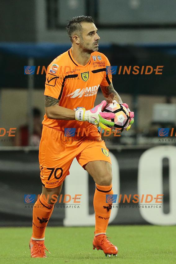 Stefano Sorrentino Chievo,  <br /> Napoli 24-09-2016 Stadio San Paolo<br /> Football Calcio Serie A 2016/2017 Napoli - Chievo<br /> Foto Cesare Purini / Insidefoto