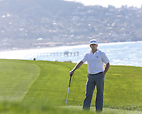 28 JAN 13  Boston's James Driscoll during Mondays Final Round at The Farmers Insurance Open at Torrey Pines Golf Course in La Jolla, California. (photo:  kenneth e.dennis / kendennisphoto.com)