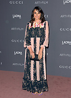 Mia Maestro at the 2017 LACMA Art+Film Gala at the Los Angeles County Museum of Art, Los Angeles, USA 04 Nov. 2017<br /> Picture: Paul Smith/Featureflash/SilverHub 0208 004 5359 sales@silverhubmedia.com