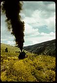Train hauling gondolas - Marshall Pass?<br /> D&amp;RGW  Marshall Pass, CO