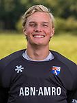 BLOEMENDAAL - keeper Maurits Visser (Bldaal) . Heren I van HC Bloemendaal , seizoen 2019/2020.   COPYRIGHT KOEN SUYK