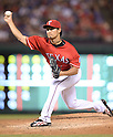 Yu Darvish (Rangers),<br /> SEPTEMBER 24, 2013 - MLB :<br /> Yu Darvish of the Texas Rangers pitches during the Major League Baseball game against the Houston Astros at Rangers Ballpark in Arlington in Arlington, Texas, United States. (Photo by AFLO)
