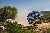 8th June 2017, Alghero, West Coast of Sardinia, Italy; WRC Rally of Sardina;  Tanak