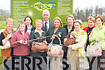 GOLF CLASSIC: Ladies from Ross Golf club who will be holding a charity golf classic for the Make A Wish Foundation on April 30th. The winners will win the beautiful bags on display here. Front row l-r: Bridie Doyle, Noreen O'Mahony (president), Ann Marie Gallivan (captain), Helen O'Donoghue, Bridie Brosnan. Back row: Eilish O'Sullivan, Sinead Gallivan, Mike Murphy (Dawn Dairies), Carole Hogan (Make A Wish Foundation), and Angela Gallivan.   Copyright Kerry's Eye 2008