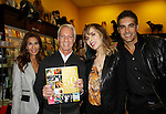 """Cast of Days Of Our Lives - Kristian Alfonso, Greg Meng, Lauren Koslow, Galen Gering sign book """"Days Of Our Lives 50 Years"""" by Greg Meng - author & co-executive producer on October 27, 2015 at Books & Greetings, Northvale, New Jersey. (Photo by Sue Coflin/Max Photos)"""