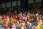 Leicester City (in blue) vs Aston Villa (in purple), during their Main Tournament Cup Final match, part of the HKFC Citi Soccer Sevens 2017 on 28 May 2017 at the Hong Kong Football Club, Hong Kong, China. Photo by Marcio Rodrigo Machado / Power Sport Images