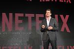 Netflix Japan CEO, Greg Peters attends Netflix contents presentation at Nicofare Tokyo Japan on 27 Jun 2016. (Photo by Motoo Naka/AFLO)