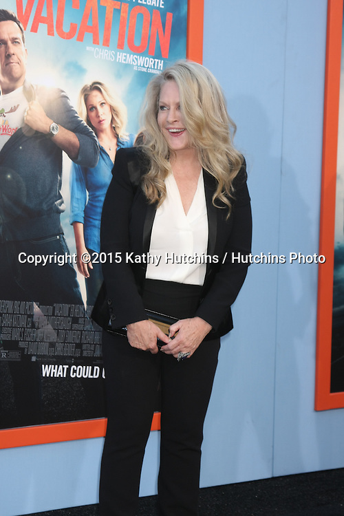 """LOS ANGELES - JUL 27:  Beverly D'Angelo at the """"Vacation"""" Premiere at the Village Theater on July 27, 2015 in Westwood, CA"""