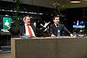 Toneelgroep Amsterdam presents<br /> &quot;Roman Tragedies&quot;, a seamless interpretation of William Shakespeare's &quot;Coriolanus&quot;, Julius Caesar&quot; and &quot;Anthony and Cleopatra&quot;, in the Barbican Theatre. The Barbican first introduced Toneelgroep Amsterdam to UK audiences in 2009 with this same production. Picture shows: Coriolanus - Gijs Scholten van Aschat (Coriolanus), Ramsey Nasr (Menenius)