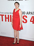 Lena Dunham at The Universal Pictures' L.A. Premiere of This is 40 held at The Grauman's Chinese Theatre in Hollywood, California on December 12,2012                                                                               © 2012 Hollywood Press Agency