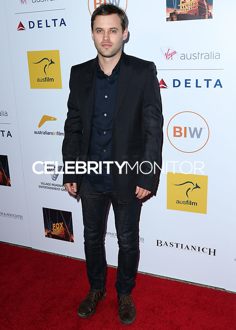 SANTA MONICA, CA, USA - OCTOBER 26: Oliver Ackland arrives at the 3rd Annual Australians in Film Awards Benefit Gala held at the Starlight Ballroom at Fairmont Miramar Hotel & Bungalows on October 26, 2014 in Santa Monica, California, United States. (Photo by Xavier Collin/Celebrity Monitor)