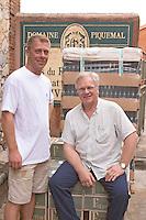 Franck and Pierre Piquemal. Domaine Piquemal, Espira de l'Agly, Roussillon, France